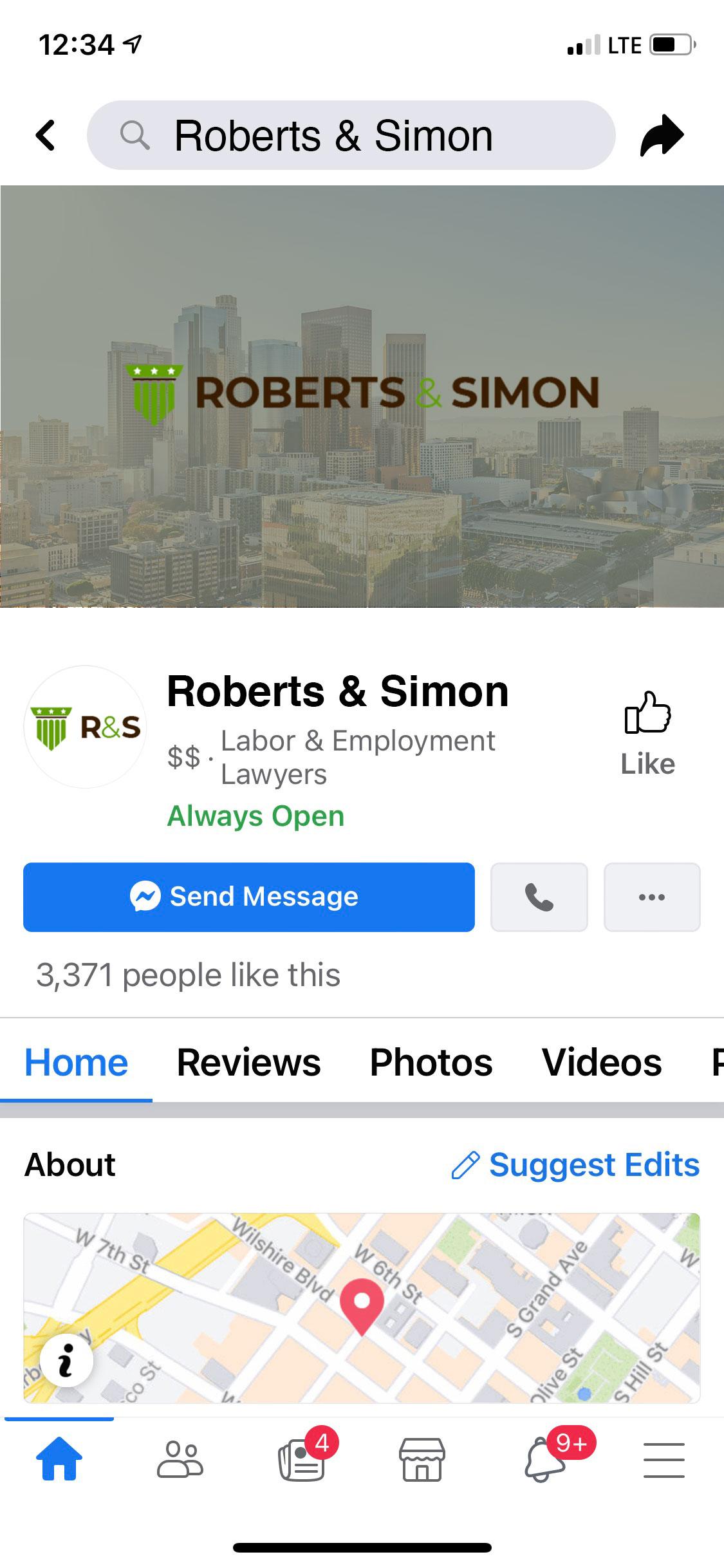 Austin Law Firm, Ngage | Facebook Messenger Integration